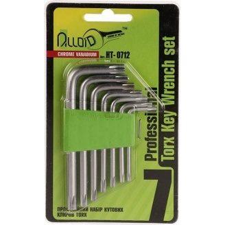 Набір шестигранних ключів ALLOID HT-0712 TORX T10-T40 7 шт