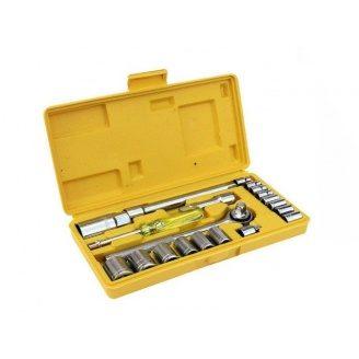 Набір насадок MASTERTOOL 78-0257 торцевих і ключів 3/8 у кейсі 20 шт