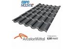 Металлочерепица Евромодуль Олимп matt Arcelormittal Германия 0,50 мм