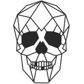 Геометричний настінний декор Череп SO Decor (011)