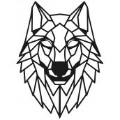 Геометрический настенный декор SO decor Волк (013)