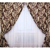 Штори блекаут Лілія VR-Textil 100 × 270 см коричневий (2026)