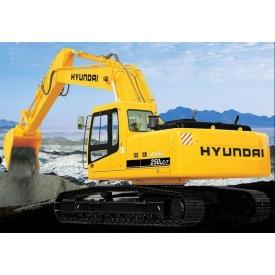 Аренда экскаватора Hundai 250 LC-7 1,2 м3