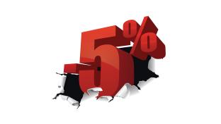 Знижка 1%