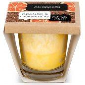 Ароматическая свеча ACappella Апельсин в корице 100 гр. (5060574610215)