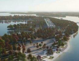 В Киеве построят IT-парк с солнечными панелями и садами на крышах?