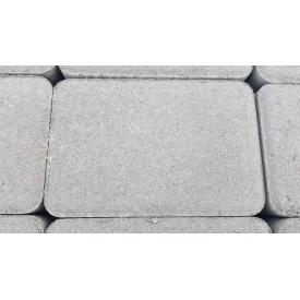 Тротуарная плитка Старый город 4 см серая