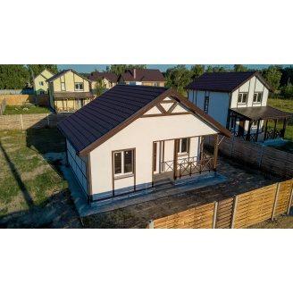 Строительство дачного дома ЭНЕРГОДОМ каркасная технология
