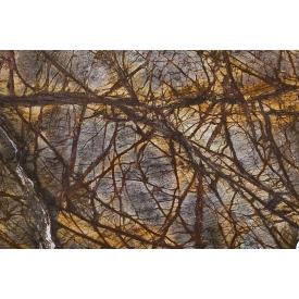 Мармур RAIN FOREST BROWN 3 см темно-коричневий