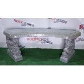 Лава Rock Side Китай 149х44х47 см під сірий граніт