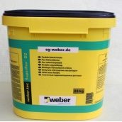 Эластичный гидроизоляционный раствор WEBER weber.tec Superflex D2 24 кг