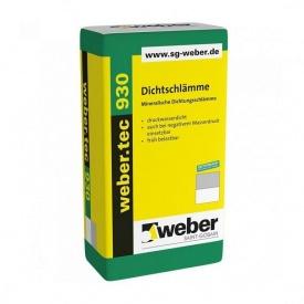 Гідроізоляційна суміш WEBER weber.tec 930 25 кг