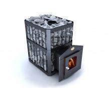Дровяная печь-каменка Пруток