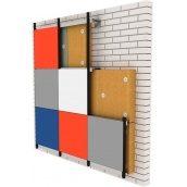 Вентильований фасад з фіброцементними плитам