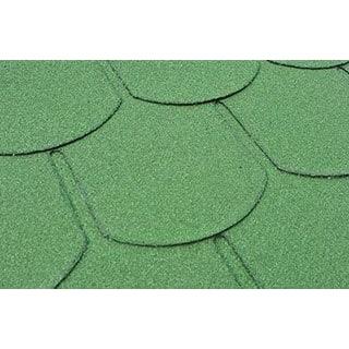 Бітумна черепиця Matizol Beaver SBS зелена
