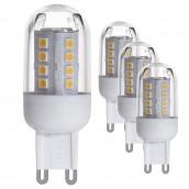 Лампа світлодіодна EGLO 2,5 Вт G9 200Лм 3000K 200Лм 4шт (10069)