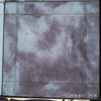 Тротуарна плитка шагрень 295x295x25 мм коричневий мармур