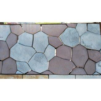 Тротуарна плитка Київський Каштан 30 мм коричневий