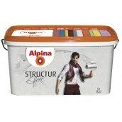 Краска белая структурная Alpina Effekt Structur CE 10 л