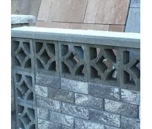 Блок декоративний Золотий Мандарин Гармонія 300х90х300 мм сірий