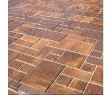 Тротуарная плитка Золотой Мандарин Пассион 60 мм модена