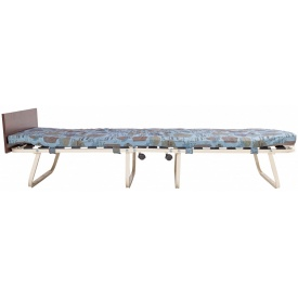 Розкладушка-ліжко Richman Ервін 190х80 см з синім матрацом складається