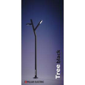 Опора освітлення Pillar Electric Три 100 Вт