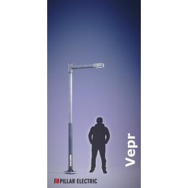 Вуличний світильник Pillar Electric Вепр 100 Вт