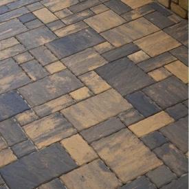Тротуарная плитка Золотой Мандарин Пассион 60 мм мессина