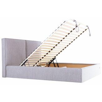 Двоспальне ліжко Деллі Richman Люкс Ронда 200х140 см з підйомним механізмом