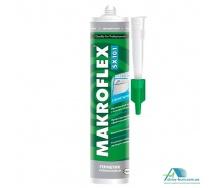 Санитарный силиконовый герметик Makroflex SX101 280 мл прозрачный