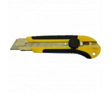 Нож универсальный с поворотным фиксатором 25 мм