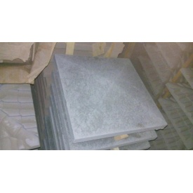 Крышка на столб Гладкая 450х600х75 мм серая