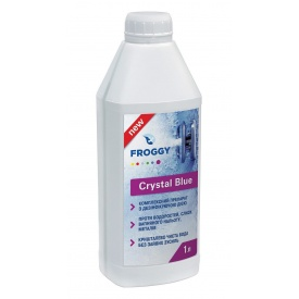 Средство для дезинфекции Crystal Blue FROGGY 1 л