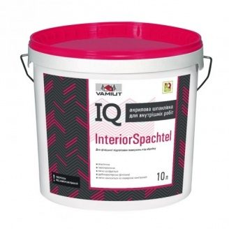 Акрилова шпаклівка IQ Interior Spachtel 10 л