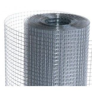 Сетка сварная штукатурная 12x25x0,65 мм 1x30 м