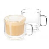 Набір DUKA Sven double wall з двох чашок для кави та чаю 150 мл (1217082)