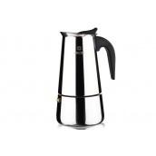 Гейзерна кавоварка VINZER Moka Inox Induction 6 чашок 55 мл (89392)