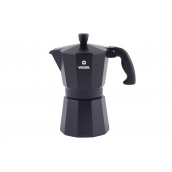 Гейзерна кавоварка VINZER Moka Nero 6 чашок (89395)