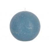 Свічка ATMOSPHERA Rustic кругла синя 8 см (145364)