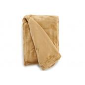 Фланелева ковдра ARTE REGAL 125х150 см кремове (21608)