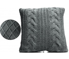 Подушка ARTE REGAL 45х45см темно-сіра (23582-4)