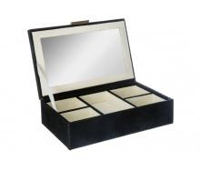 Скринька ATMOSPHERA чорна 21х14х5,5 см (157034)