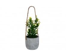 Штучні квіти ATMOSPHERA у бетонній підвісній горщику 10 см (145046-2)