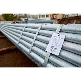 Труба водогазопровідна оцинкована Ду сталева ВГП 25х3,2 мм