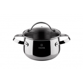 Кастрюля с крышкой VINZER Culinaire series диаметр 18 см 2,4 л (89166)