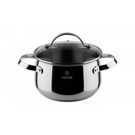 Кастрюля с крышкой VINZER Culinaire series диаметр 20 см 4 л (89167)
