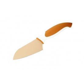 Нож сантоку GRANCHIO оранжевый 11,5 см 88673