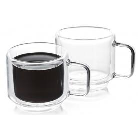 Набор DUKA Sven double wall из двух чашек для кофе 120 мл (1217083)