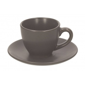 Набор кофейных чашек TOGNANA RUSTICAL ANTRACIT 6 шт (RL185010891)